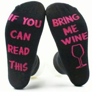 Accessories - Bring Me Wine Anklet Socks
